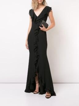 ZAC ZAC POSEN Aiden Black Gown