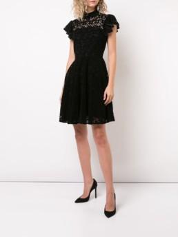 ZAC ZAC POSEN Carola Black Dress