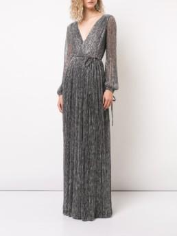 ZAC ZAC POSEN Cristina Silver Gown