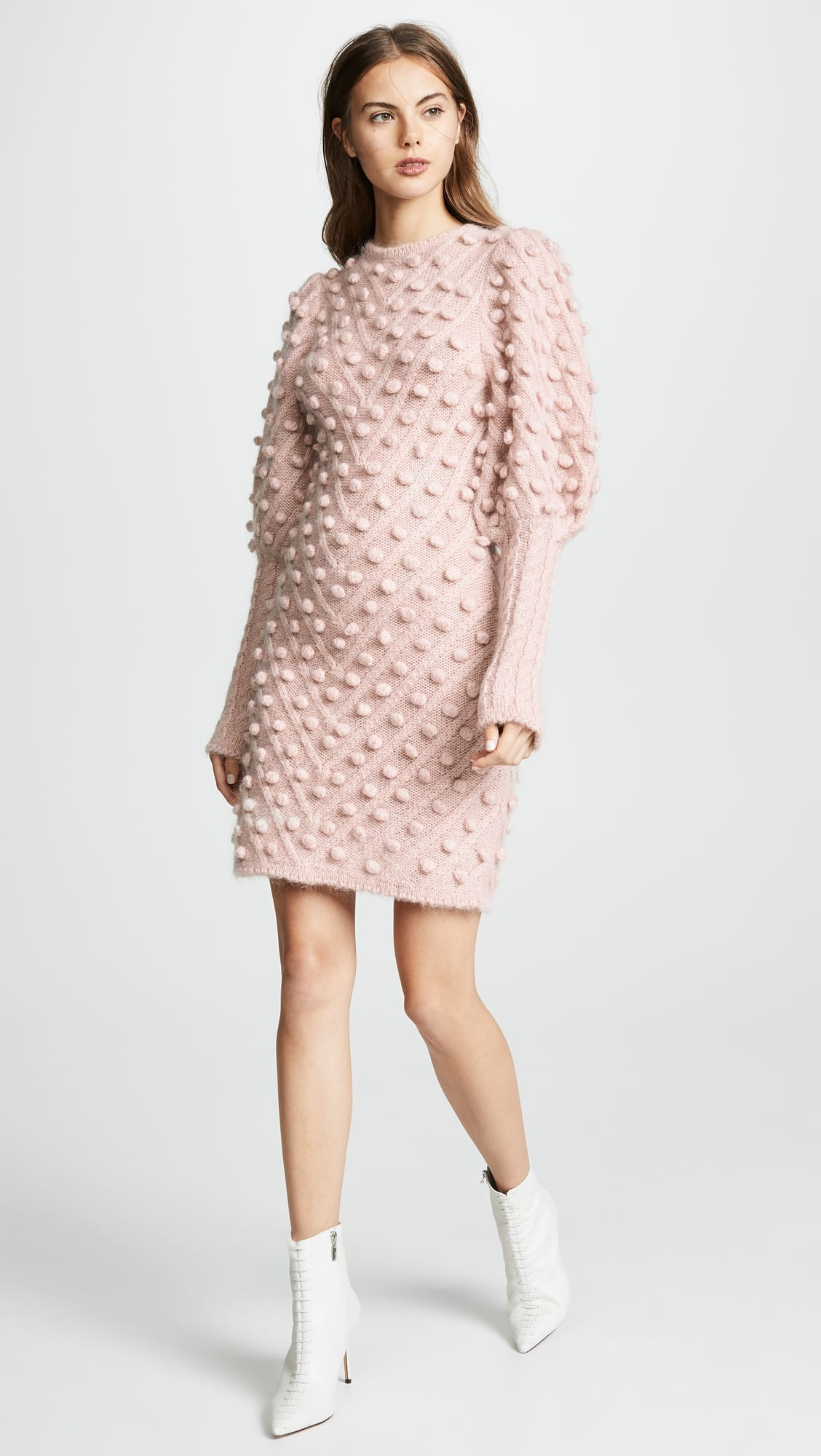 ZIMMERMANN Fleeting Bauble Rose Dress