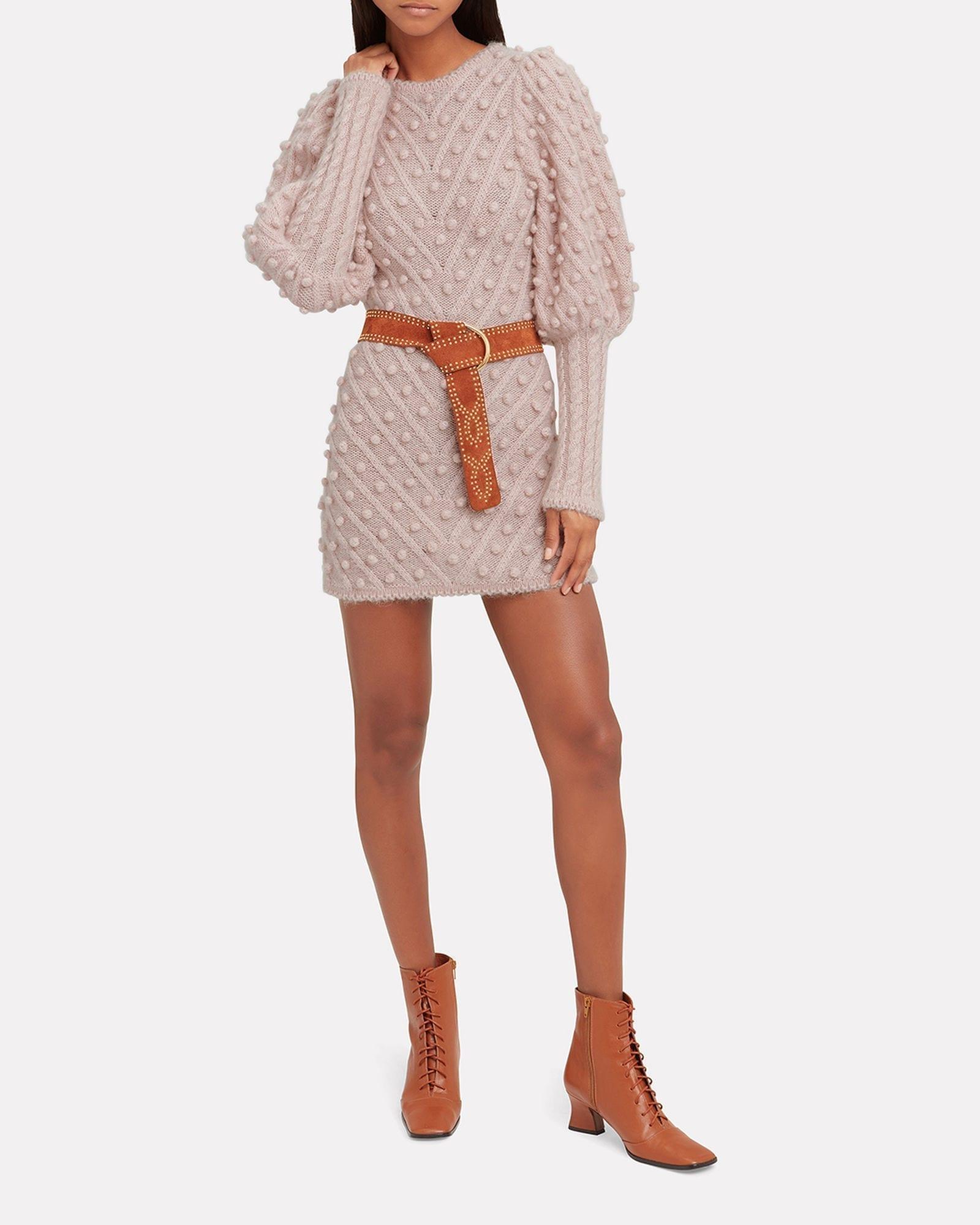 760a62c82e7 ZIMMERMANN Fleeting Bauble Sweater Pink Dress - We Select Dresses