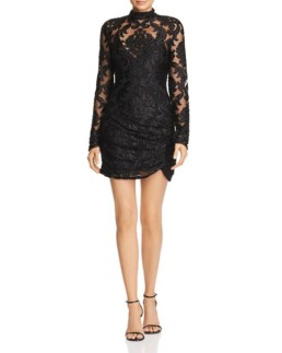 ALICE MCCALL Electric Avenue Lace Black Dress