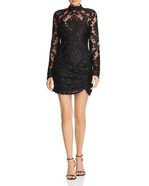Alice Mccall Electric Avenue Lace Black Dress We Select Dresses
