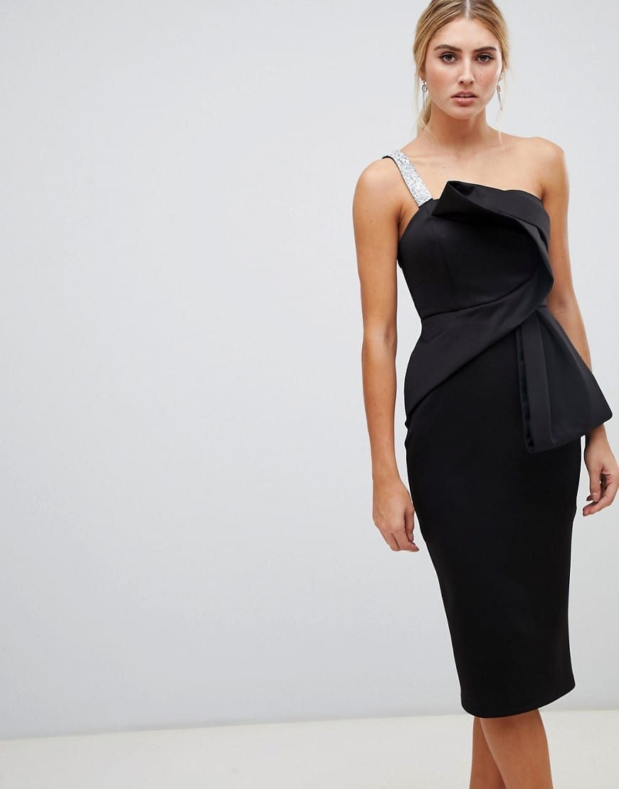 99dbc1549df33 Asos Scallop Lace Edge Midi Dress – DACC
