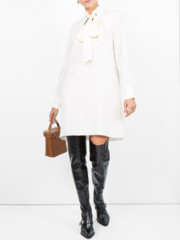 CHLOÉ Shirt White Dress