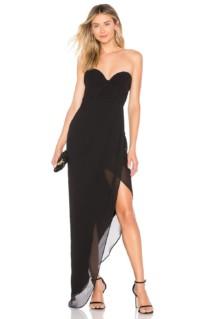 CHRISSY TEIGEN X Revolve Chateau Black Gown