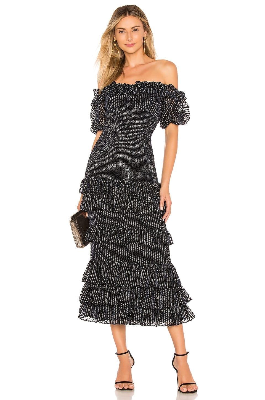 CHRISSY TEIGEN X Revolve Nolan Maxi Navy Dress