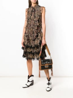 ETRO-Alameda-Brown-Dress