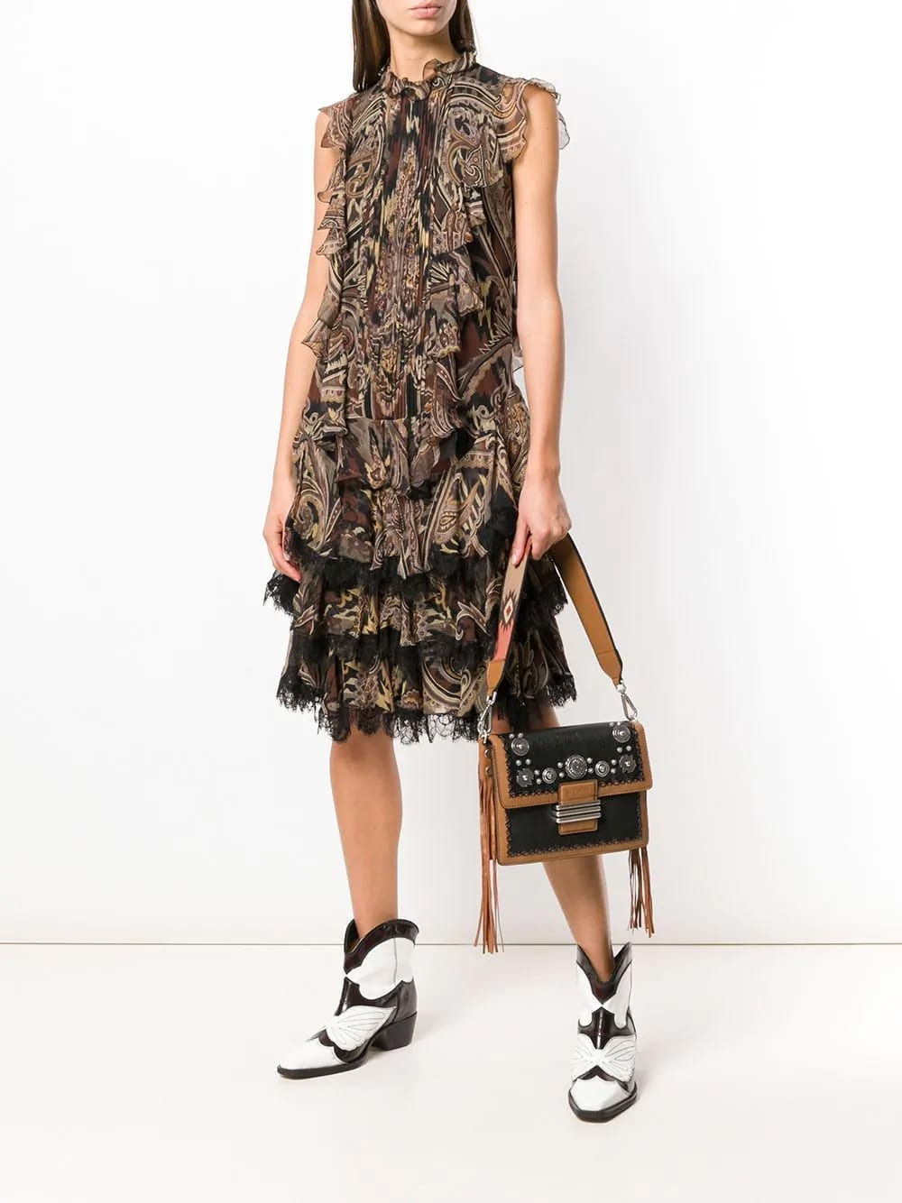 ETRO-Alameda-Brown-Dress