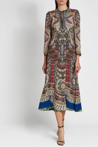 ETRO Midi Multi / Printed Dress