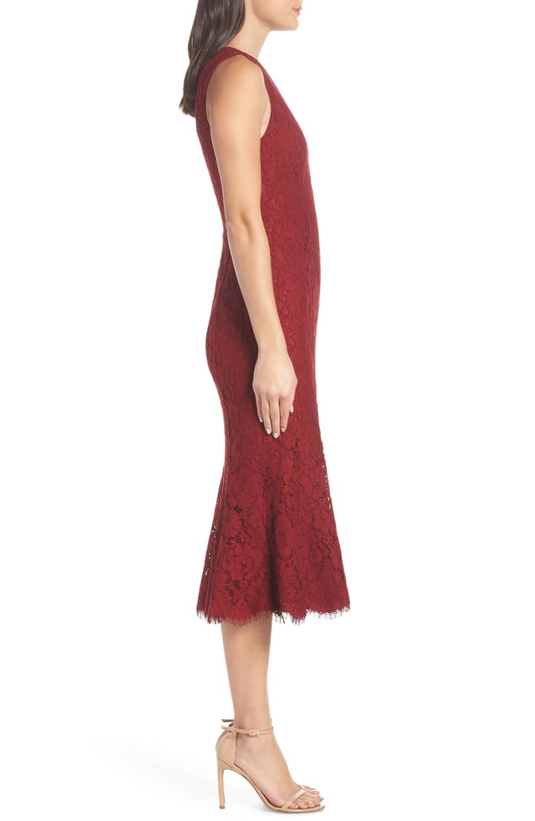 4afa8f15af FAME AND PARTNERS The Bianca Red Dress - We Select Dresses