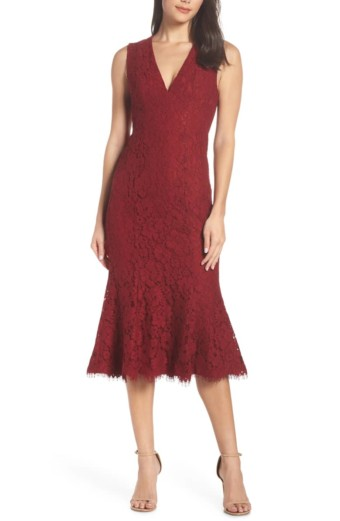 FAME AND PARTNERS The Bianca Red Dress