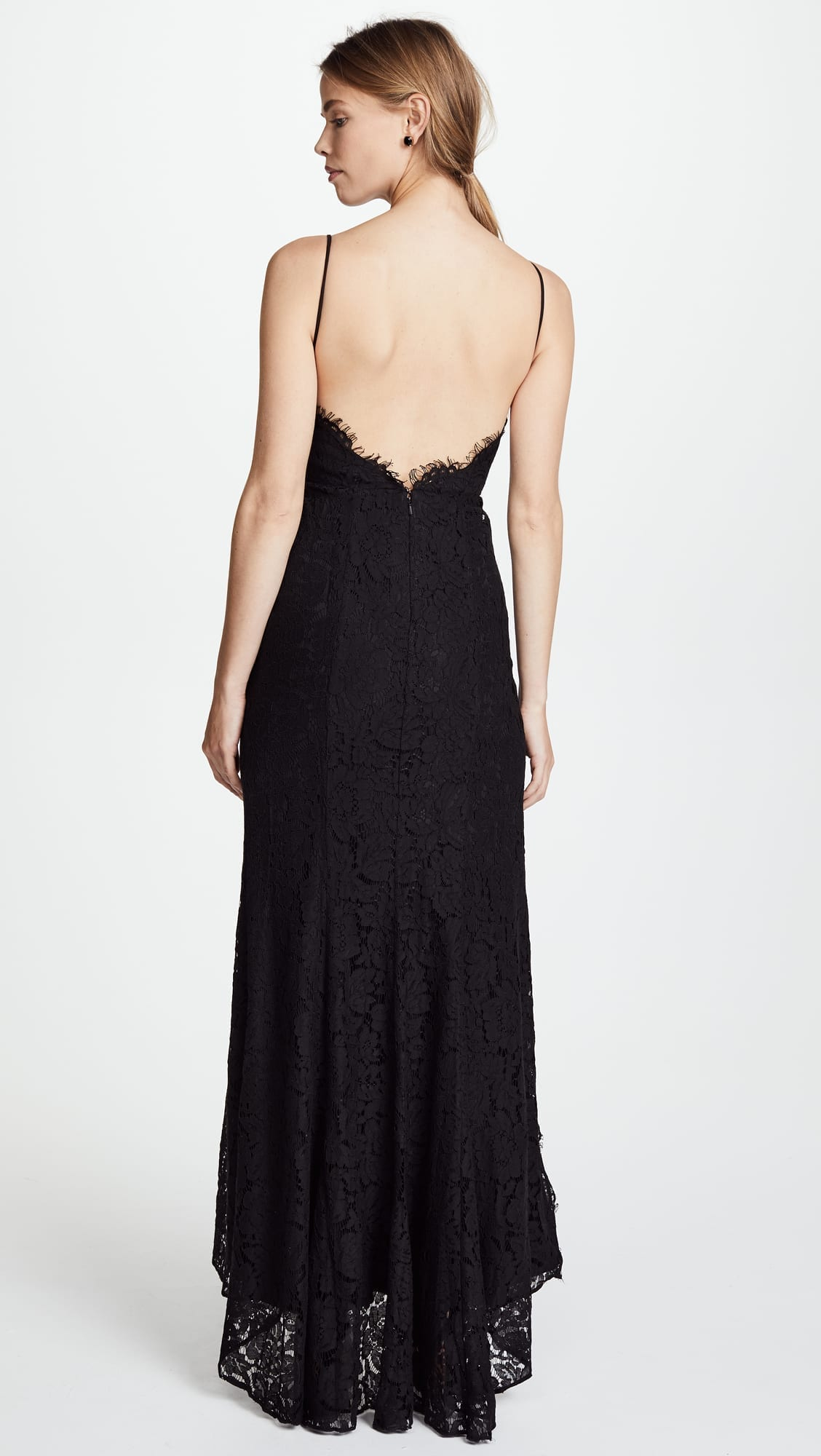 5ce6b762fef8f FAME AND PARTNERS The Everett Black Dress - We Select Dresses