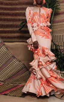 JOHANNA ORTIZ California Dreaming Silk Georgette Orange Dress