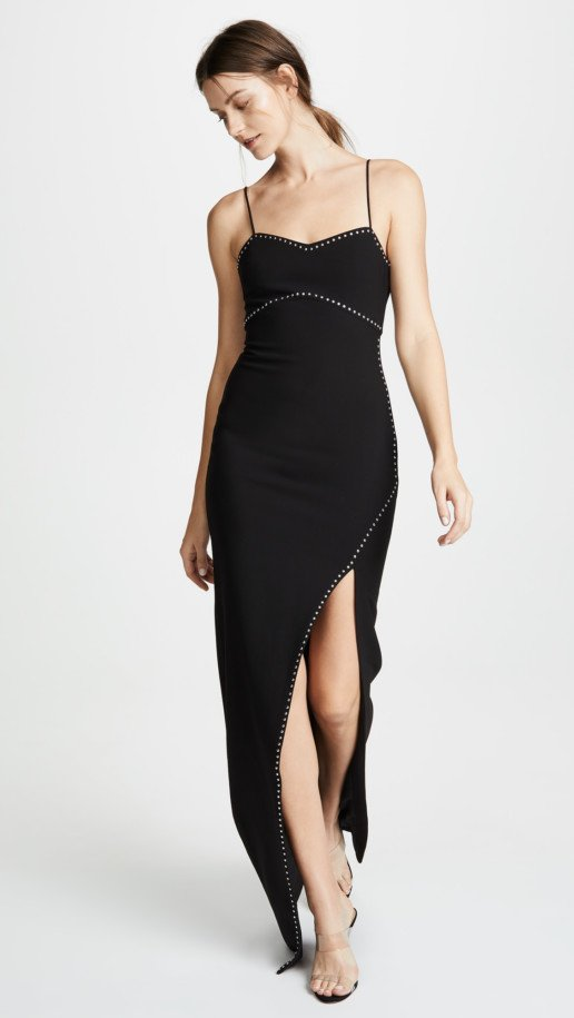 LIKELY Charlene Black Gown