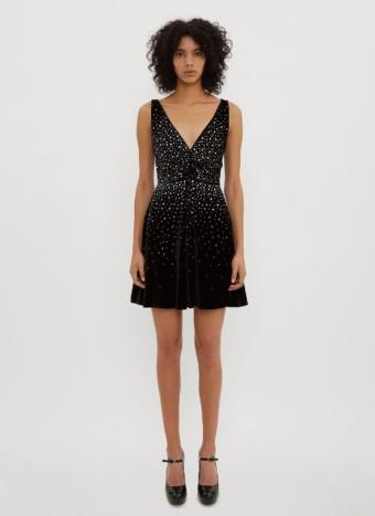 MIU MIU Velvet Black Dress