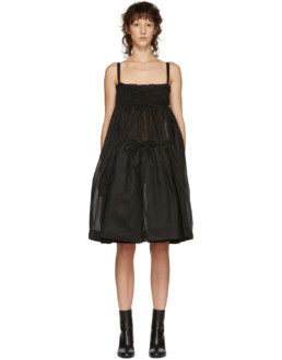MOLLY GODDARD Honor Black Dress