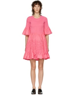 MOLLY GODDARD Suzanne Pink Dress