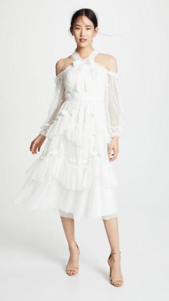 NEEDLE & THREAD Day Dreamer Pearl Dress