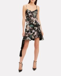 NICHOLAS Arielle Belted Floral Dress
