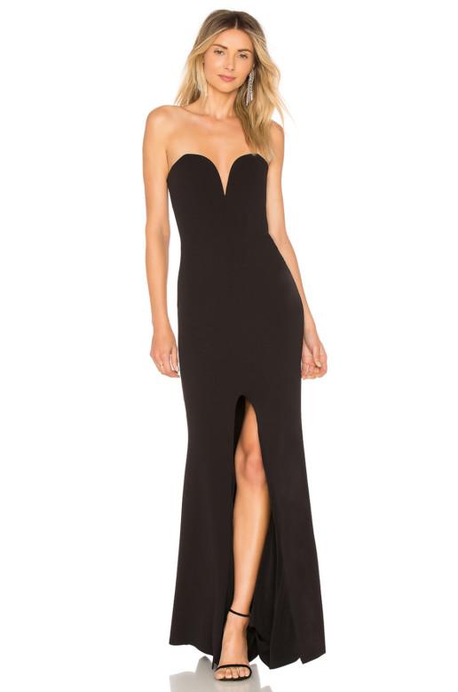 NOOKIE Honey Black Gown