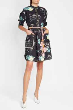 PETER PILOTTO Cotton Shirt Multi / Printed Dress