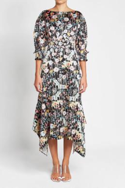 PETER PILOTTO Silk Multi / Printed Dress