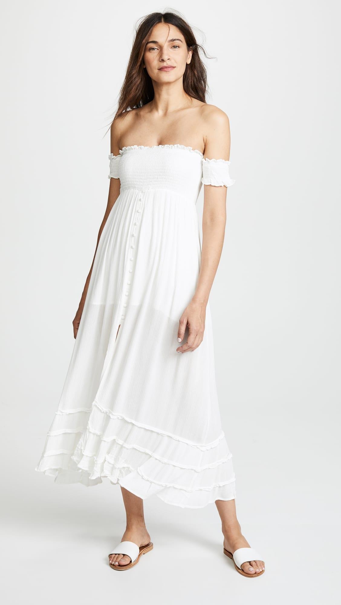 c83965dbb1d7 PILYQ Mishell White Dress - We Select Dresses