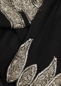 RIXO LONDON Giada Sequin-Embellished Silk Black Dress 5