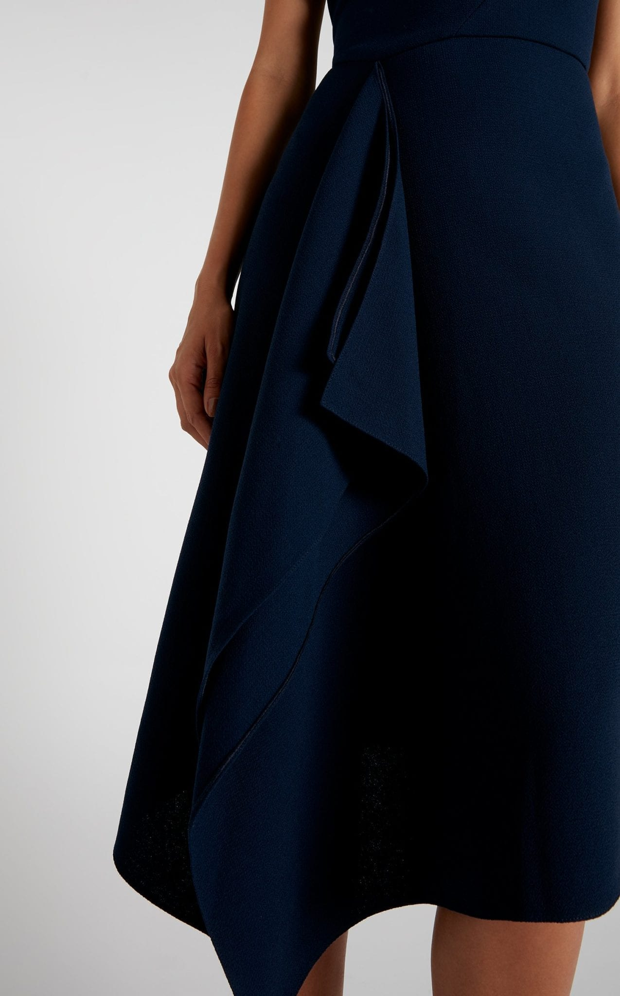 ROLAND MOURET Barwick Navy Dress 3