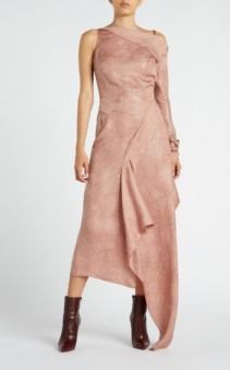 ROLAND MOURET Bruce Mink Dress 4