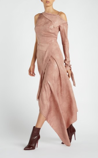 ROLAND MOURET Bruce Mink Dress