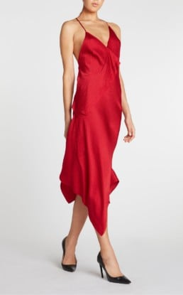 ROLAND MOURET Jimboy Red Dress
