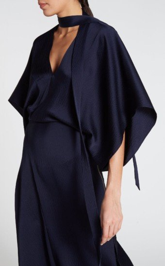ROLAND MOURET Meyers Navy Dress 2