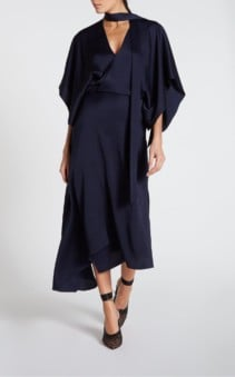 ROLAND MOURET Meyers Navy Dress
