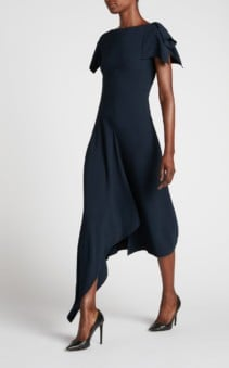 ROLAND MOURET Warren Navy Dress