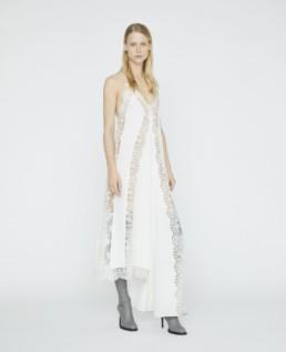 STELLA MCCARTNEY Angie Lace White Dress