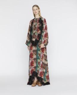 STELLA MCCARTNEY Flower Print Multi Dress
