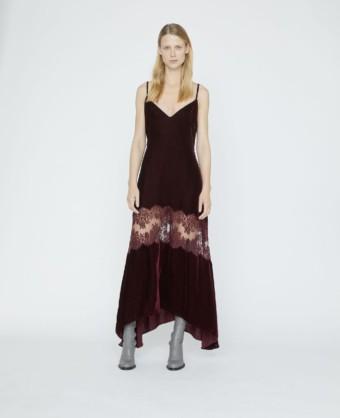 STELLA MCCARTNEY Kelsey Velvet Red Dress