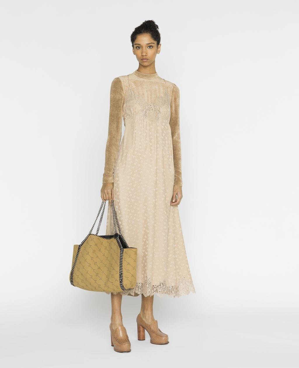 STELLA MCCARTNEY Simone Beige Dress
