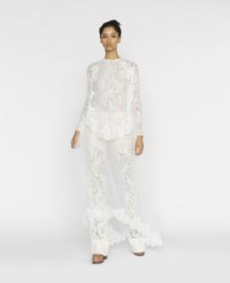 STELLA MCCARTNEY Sophia Ivory Dress