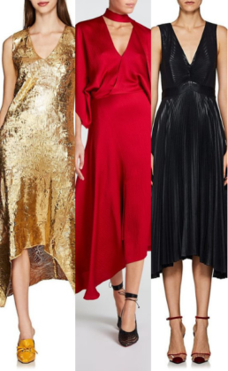 Show Your Offbeat Sense Of Style In Asymmetric Dresses