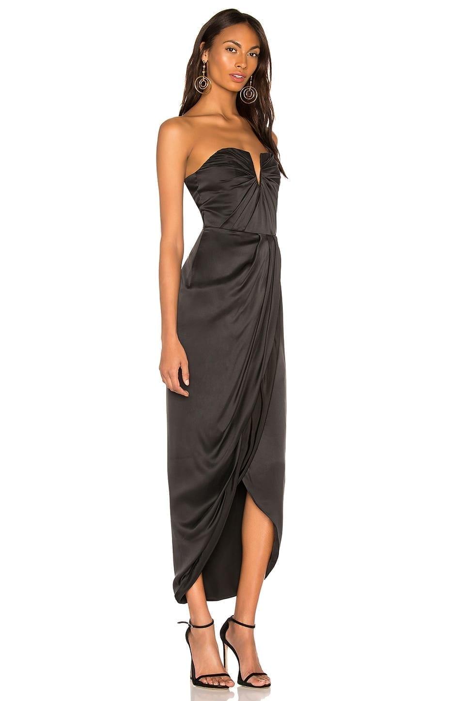 ba6626a9f9055 Yumi Black Maxi Dress – Little Black Dress | Black Lace Bridesmaid ...
