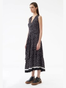 3.1-PHILLIP-LIM-Sleeveless-Gathered-Black-Dress-2