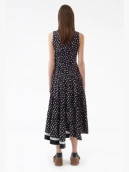 3.1-PHILLIP-LIM-Sleeveless-Gathered-Black-Dress-3