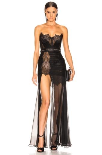 AADNEVIK Bustier Black Gown