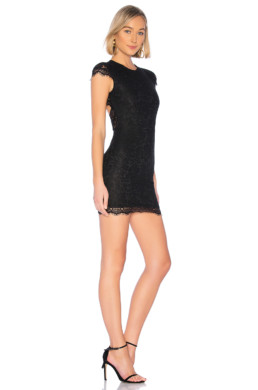 ABOUT US Rory Lace Black Dress 3