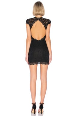 ABOUT US Rory Lace Black Dress 4