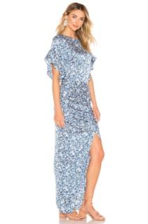 ACACIA SWIMWEAR Luau Silk Blue Dress 2