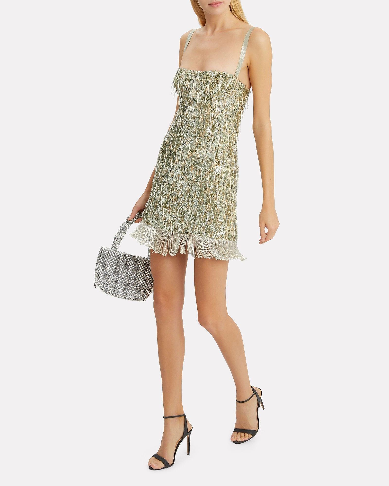 Alexis Silver alexis izabell sequin mini silver dress - we select dresses